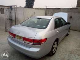 Lagos Cleared Clean Tokunbo 2004 Honda Accord Leather Interior #1.380M