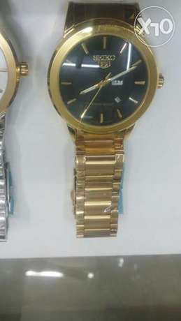 Seiko 5 gents watches in gold and silver bracelet,at 4500ksh. Nairobi CBD - image 8