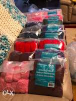 Crochet & Knitting Yarn : Colorful yarn 400g (8pcs per bag)