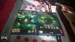 ps2 matrix games
