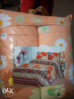 Quality- Duvet with bedsheet & 4pillowcases