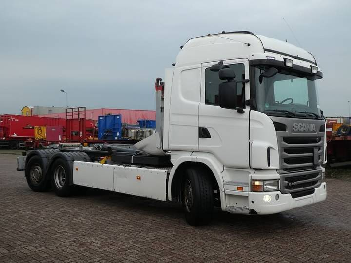 Scania G440 gergen hooklift 2170 - 2010 - image 2