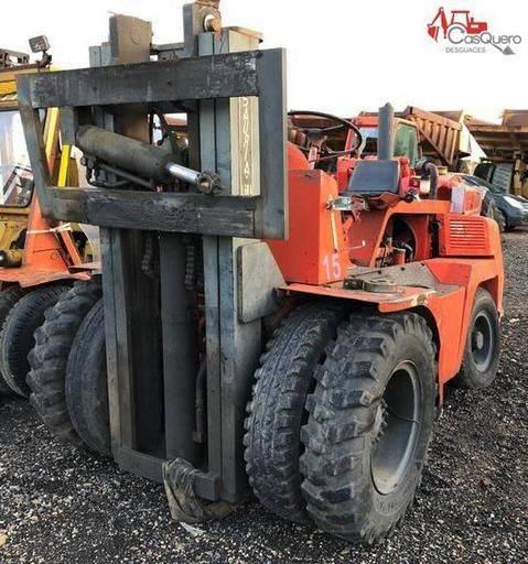 Alfaro Sauria L 60a Forklift For Parts