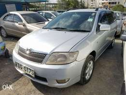 Toyota corolla Fielder 1800 cc,extremely clean