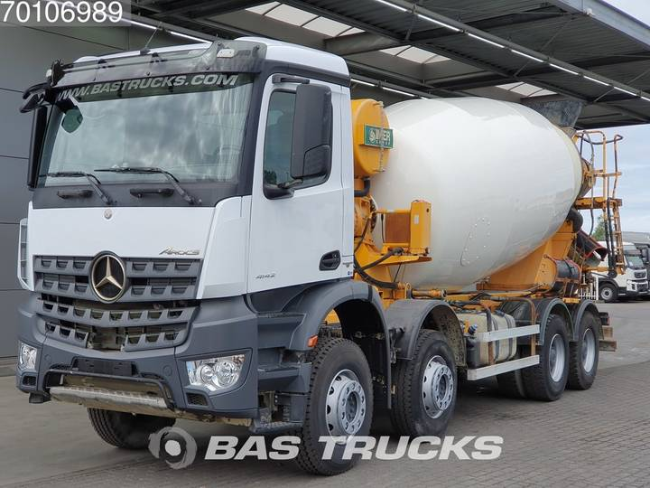 Mercedes-Benz Arocs 4142 B 8X4 12m3 Big-Axle Steelsuspension Euro 6 - 2016