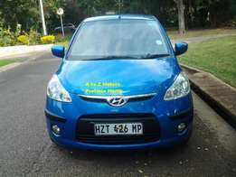 2010 Hyundai i10 1.1 GLS Hatchback with the following km's 54074