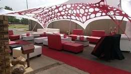 lounge set up,wedding decor,events functions &hiring.tables,chairs