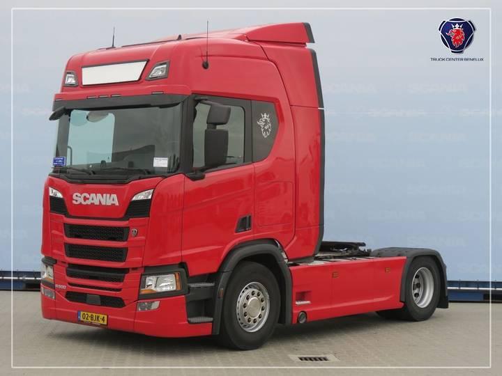 Scania R500 A4X2NA | PTO | Navigation - 2017