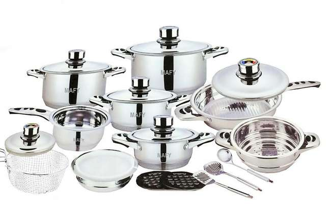 21-PCS Mafy Swiss Pot Set R1 499 Including Delivery (Up to 50%OFF) Johannesburg CBD - image 3