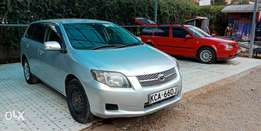 Toyota fielder very clean,new tyres