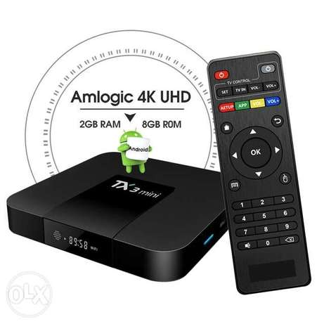 newest Android TV Box TX3 MINI H S905W Android 7.1 Smart TV Box 2.0GHz