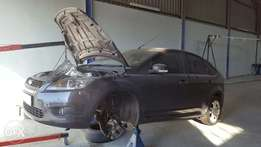 ford focus breaking 2.0tdci stripping