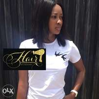 Straight closure hair extensions (wig?)