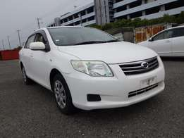 Toyota Axio pearl white colour 2010 model excellent condition