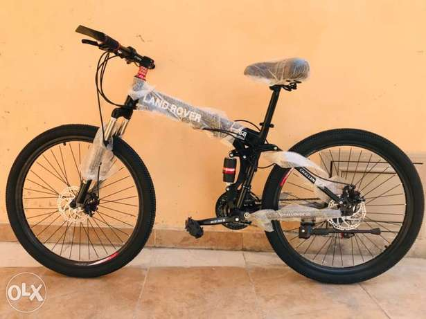 New Foldable Bicycles 26 inch - New Stock