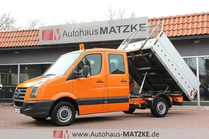 Volkswagen Crafter Doka Drei-Seiten-Kipper 1.Hand Standheiz - 2007
