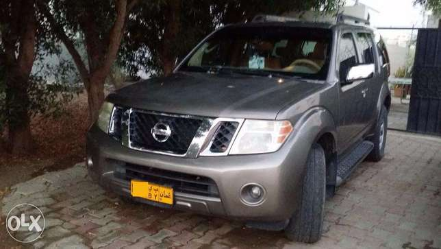 Nissan Pathfinder - Metallic beige color