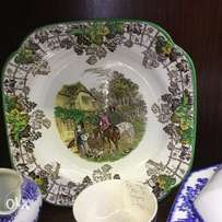 Spode Byron cake or snack plate early century