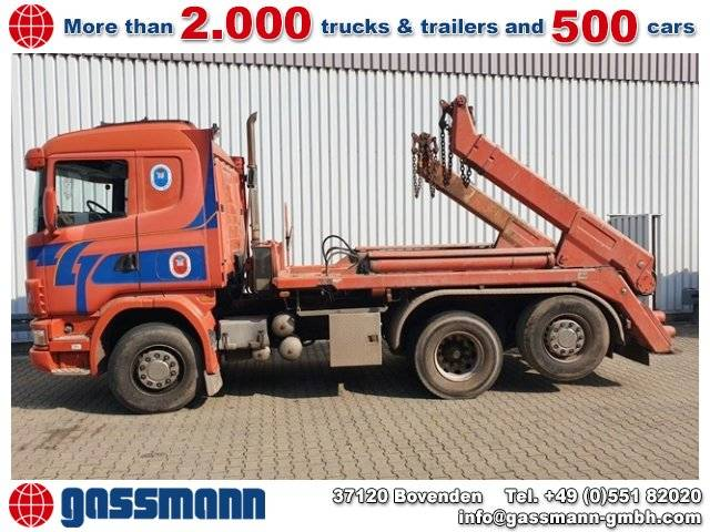 Scania R144 GB 460 6x2/4 NA, Retarder, Lift-/Lenkachse - 2001