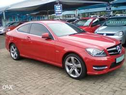 2014 Mercedes Benz C180 Coupe BE