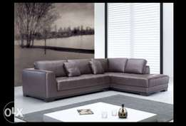 [LARGELIFE Furniture] One Accord Series 6 Seater Leather Sofa
