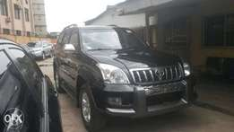 Totota land cruiser prado jeep 2015 model, with front and back camera
