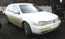 Golf 4 2.0l 2003 Stripping for Spares