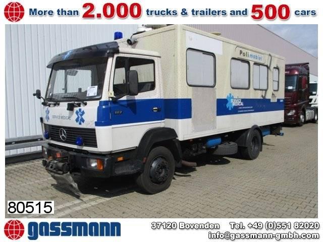 mercedes-benz l 1117 4x2 krankenwagen - 1988