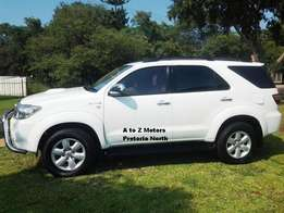 2009 Toyota 3.0 Fortuner D4D 4x4 SUV