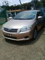 Toyota Axio year 2010,finance allowed and arranged.