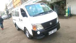 Nissan Caravan QD32 Automatic 2008 model,reg:KCF at 1.1m