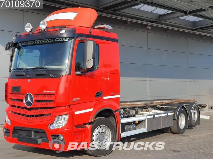 Mercedes-Benz Actros 2545 L 6X2 Liftachse Hydraulik Euro 5 - 2013