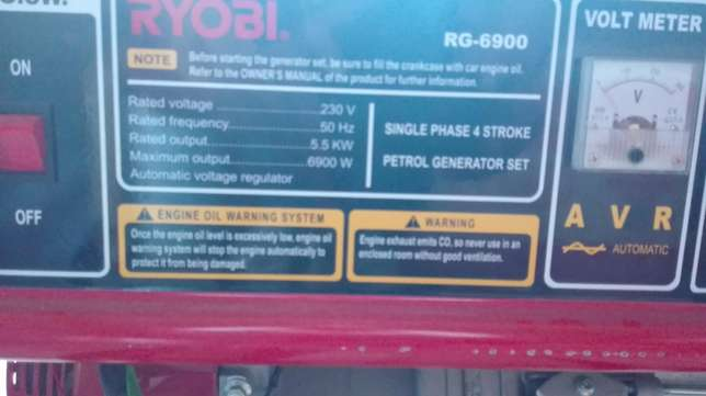 5.5KW GENERATOR for sale Cove Rock - image 2