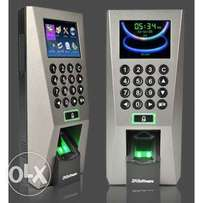 F18 Bio-metric Employee time Attendance and Access Control Unit