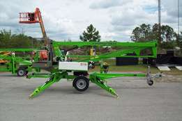 Hydraulic Outriggers Diesel Boom lift cherry picker
