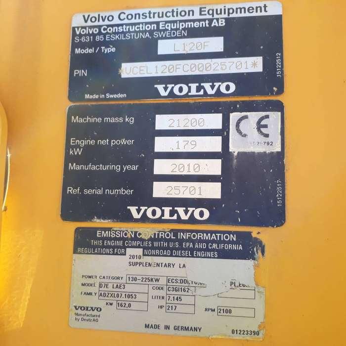 Volvo L 120 F - 2010 - image 6