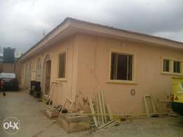 A twin bungalow of 3 bedroom each for sale at bembo apata ibadan