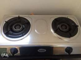 Gas stove with tank
