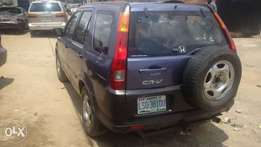 Honda CRV2005model less than a year used