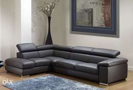 Angels leather sofa set