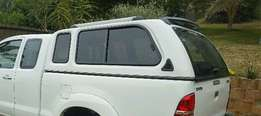 Swop this canopy for toyota roll bar and nudge bar