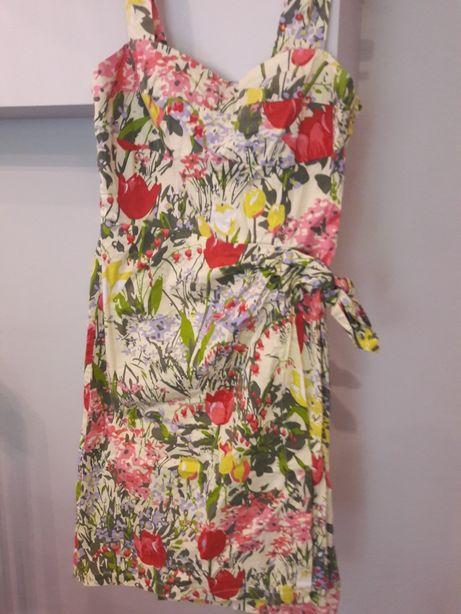 H&m sukienka kwiaty rozm 38 M Suszec • OLX.pl