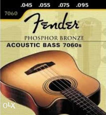 Fender - Super 7060 S 45-95 A - Acoustic Bass Guitar Strings