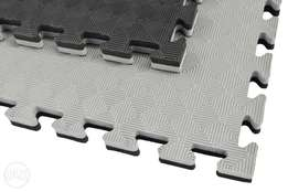 Black/Grey Gym Floor Mat Available (1M Square , 2.5cm thick)