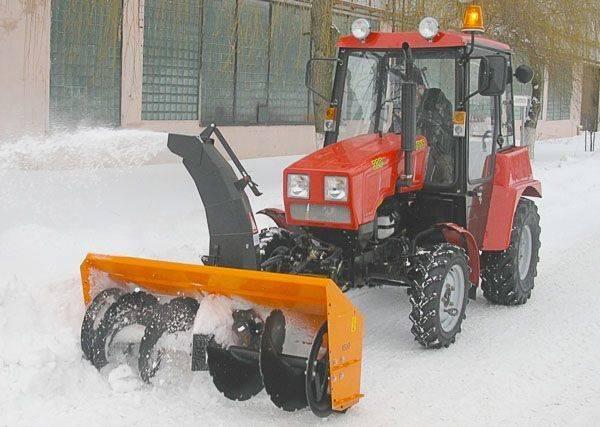 MTZ Шнеко-роторный на МТЗ 320