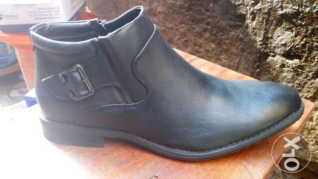 Official shoes leather black & coffee brown40-45 at affordable price Kampala - image 2