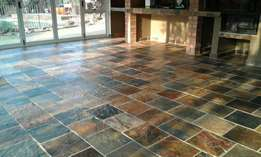 SLATE - Rich Autumn Tiles at Wholesale price from Quarry for your area