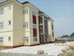 A tastefully finished and brand new 3bedroom flat at Galadimawa dist.