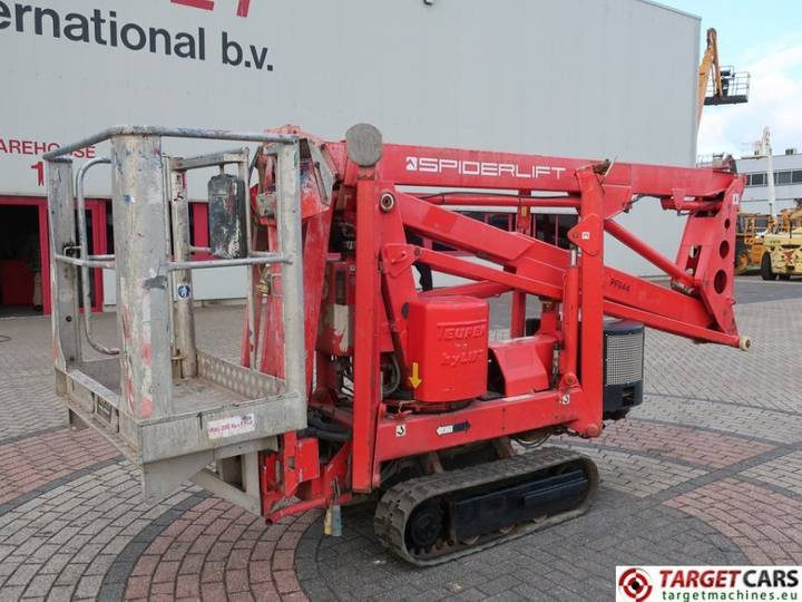 Teupen Leo 15GT Articulated Bi-Fuel Tracked Boom Lift 15M - 2007