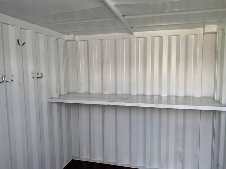Container 8fot M Hyllor Och Inredning